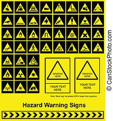 signe danger, avertissement