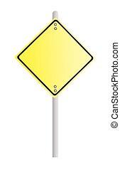 signe jaune
