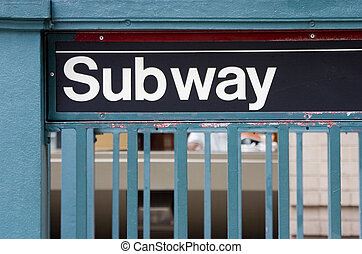 signe métro