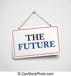 signe, pendre, avenir
