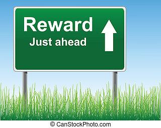 signe., récompense, route