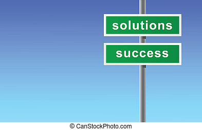 signe, solutions, success.