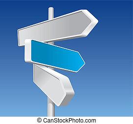 signes directionnels, (vector)