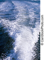sillage, bateau