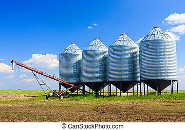 silos grain