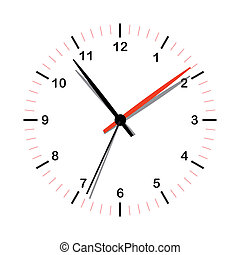simple, horloge