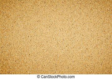 simple, plat, sable, texture.