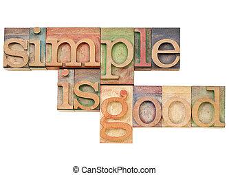 simplicité, bon, blocs, letterpress, simple, vendange, -, -i, solated, encres, taché, concept, texte, impression, bois, couleur