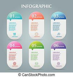 simplicité, infographic, conception