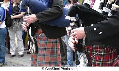 singi, cornemuse, écossais, traditionnel