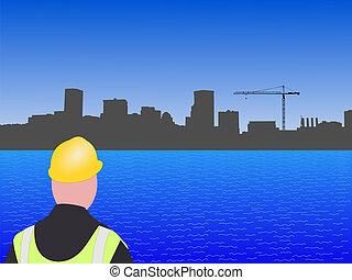 site construction, baltimore