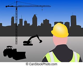 site construction, montréal