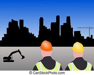 site construction, singapour