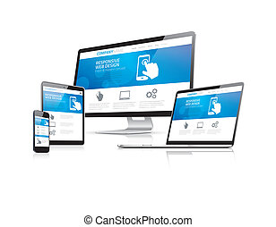 site web, développement, codage, res