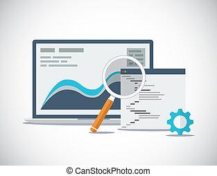 site web, processus, seo, fl, analyse