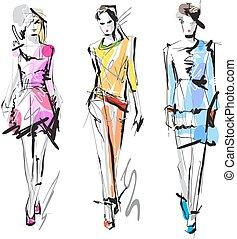 sketch., mode, models.