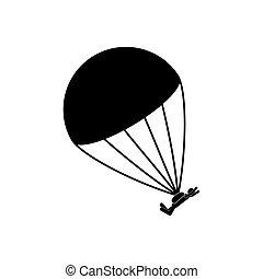 skydiving, sport, extrême