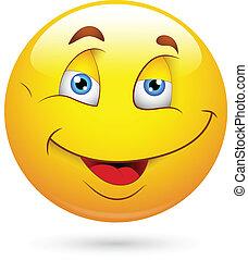 smiley, heureux