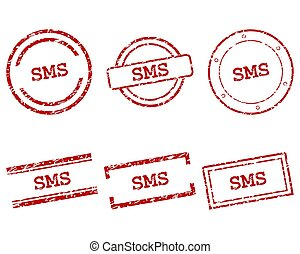 sms, timbres