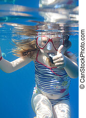 snorkelling, vacances