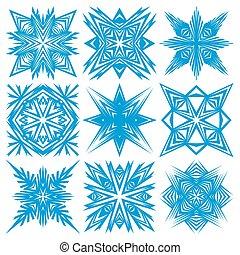 snowflakes., ensemble