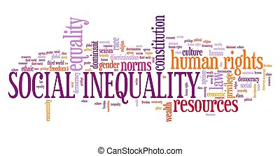 société, inégalité