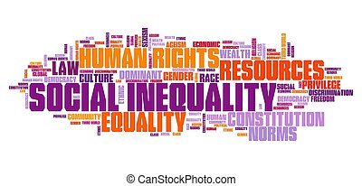 social, concept, inégalité