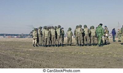 soldats, ranks.