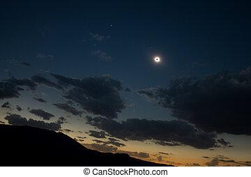 soleil, 100%, éclipse