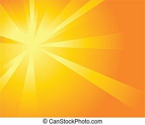 soleil, fond