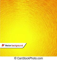 soleil, illustration, vecteur, fond, ton, design.