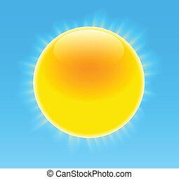 soleil, lustré