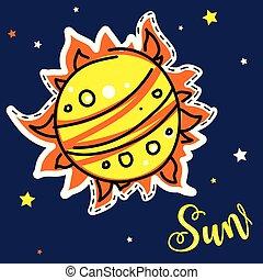 soleil, planète