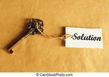solution, clã©