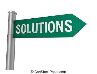 solutions, panneaux signalisations