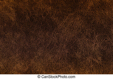 sombre, brun, leather., texture