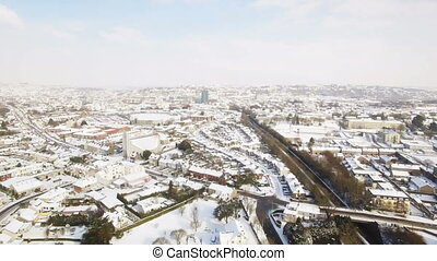 sommet, vue ville