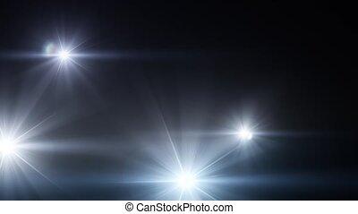 son, 02, lumière, flash, éclats (flares), appareil photo