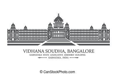 soudha, bangalore, vidhana
