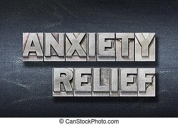 soulagement, inquiétude, repaire