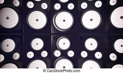 """""""sound, interlocuteurs, system., stéréo, arrière-plan., 3d"""", audio"""