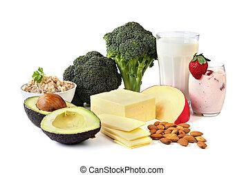 sources, calcium