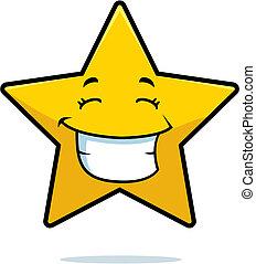 sourire, étoile