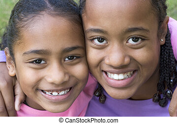 sourire, enfants