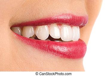 sourire tout dents