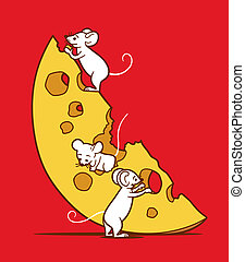 souris, fromage
