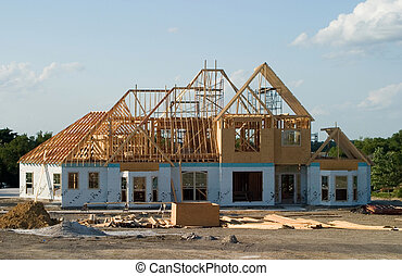 sous, grand, emmagasiner construction