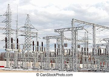 sous-station, pouvoir électrique
