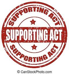 soutenir, act-stamp