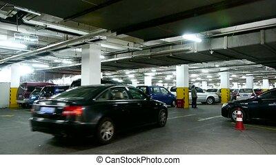 souterrain, parking.